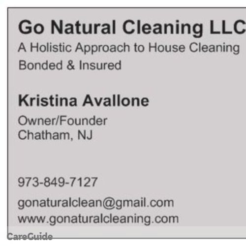 Housekeeper Provider Kristina Avallone's Profile Picture