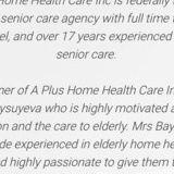 A Plus Home Health Care Inc