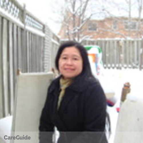 Canadian Nanny Provider Antonia Rexy Bucayan's Profile Picture