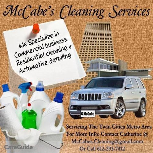 Housekeeper Provider Catherine McCabe's Profile Picture