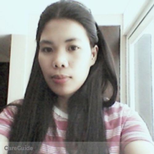 Canadian Nanny Provider Ria Sobremisana's Profile Picture