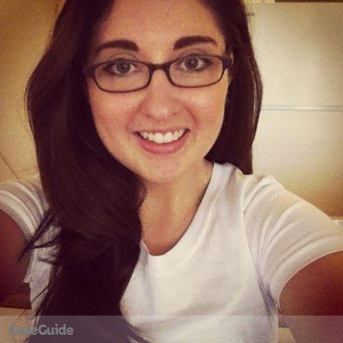 Canadian Nanny Provider Gabrielle W's Profile Picture