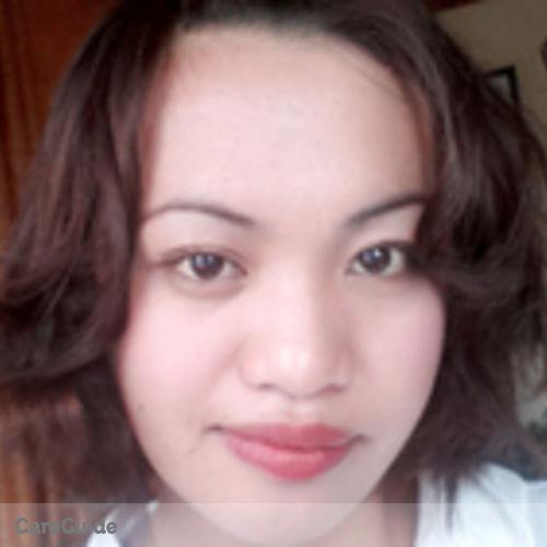 Canadian Nanny Provider Jobelluz Melchor's Profile Picture