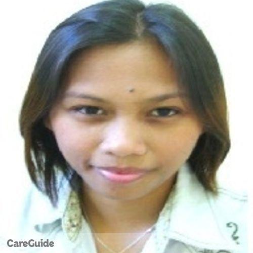 Canadian Nanny Provider Maria Leilanie Manampan's Profile Picture