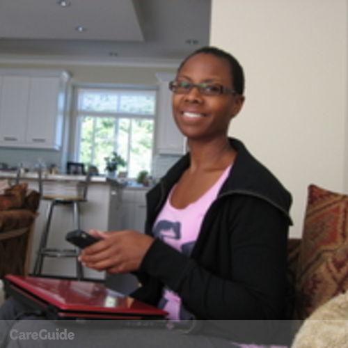 Canadian Nanny Provider Jade White's Profile Picture