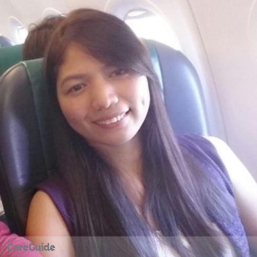 Canadian Nanny Provider Jacqueline Joy Soriano's Profile Picture