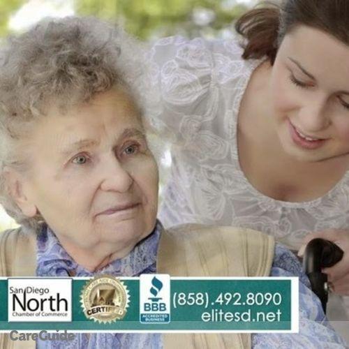 Elder Care Provider Elite Home Care Of San Diego's Profile Picture