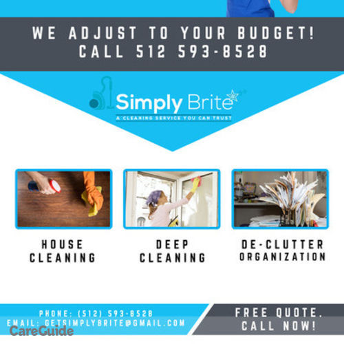 Housekeeper Provider Simply Brite's Profile Picture