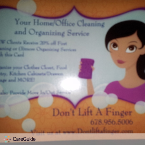 Housekeeper Provider Don't Lift A Finger's Profile Picture