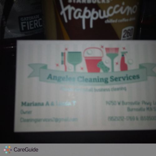 Housekeeper Provider Mariana Angeles's Profile Picture