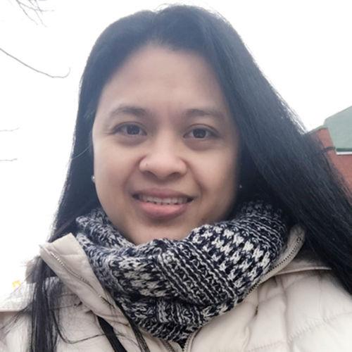 Canadian Nanny Provider Maritess Arciaga's Profile Picture