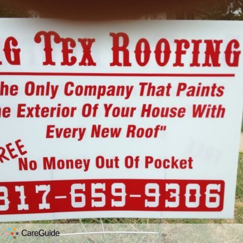 Roofer Provider Patrick Howell's Profile Picture