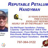 Reputable Petaluma Handyman