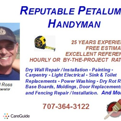 Handyman Provider Michael Ross's Profile Picture