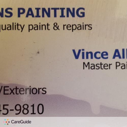 Painter Provider Vince Allen's Profile Picture