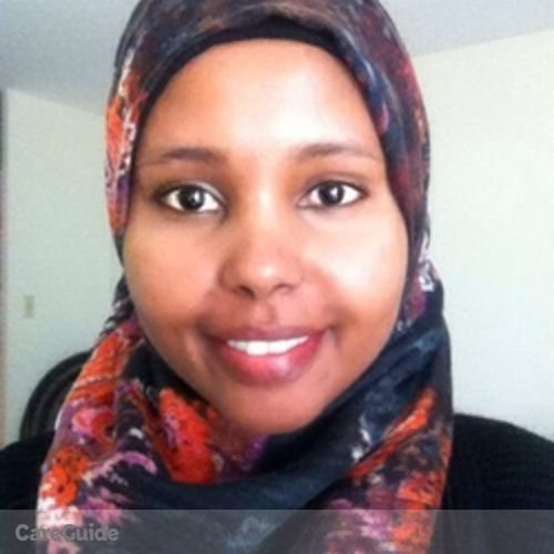 Canadian Nanny Provider Khadra A's Profile Picture