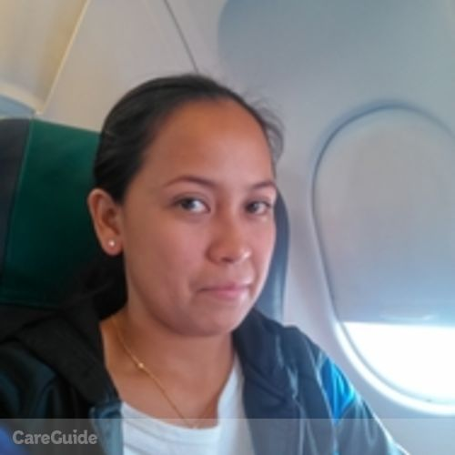 Canadian Nanny Provider Jane Erica E's Profile Picture