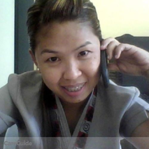 Canadian Nanny Provider Ana Lorraine Gumatay's Profile Picture
