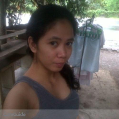 Canadian Nanny Provider Maria Jessica Masbate's Profile Picture