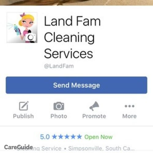 Housekeeper Provider Ashley Land's Profile Picture