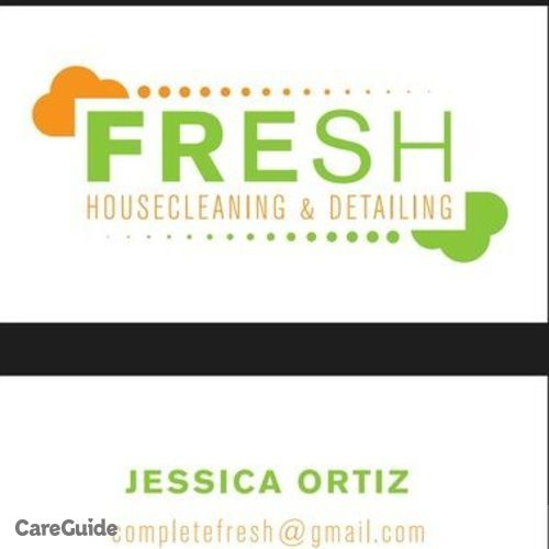 Housekeeper Provider Fresh Housecleaning and Detailing Jessica Ortiz's Profile Picture