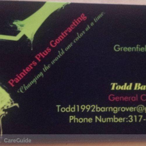 Painter Provider Todd Barngrover's Profile Picture
