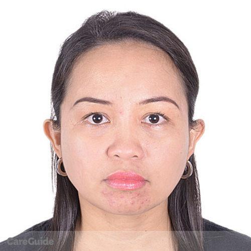 Canadian Nanny Provider Irene G's Profile Picture