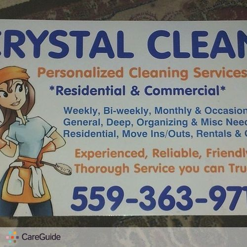 Housekeeper Provider Crystal S's Profile Picture