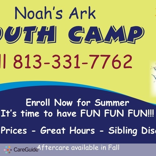 Child Care Provider Noah's Ark Youth Camp's Profile Picture
