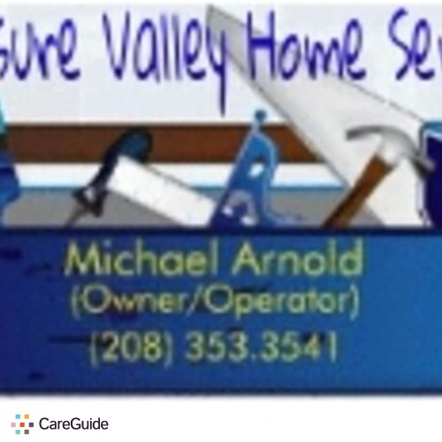 Handyman Provider Treasure Valley Home Services Michael Arnold's Profile Picture