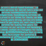 House Cleaning Company, House Sitter in River Rouge