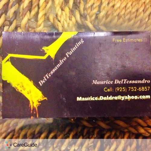 Painter Provider Maurice DelTessandro's Profile Picture