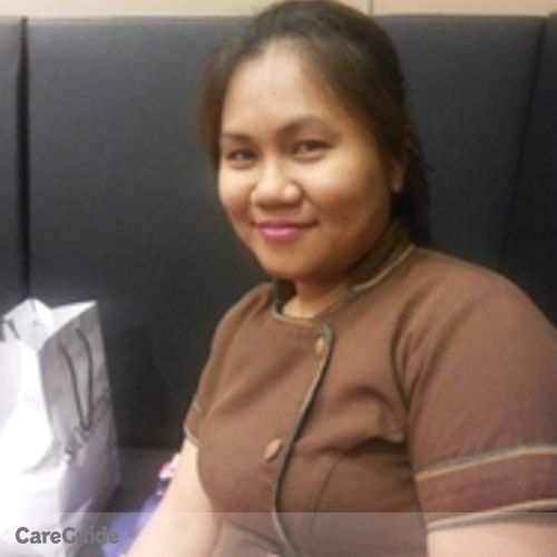 Canadian Nanny Provider Michelle Ambulo's Profile Picture