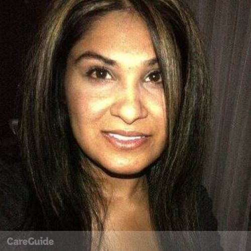 Canadian Nanny Provider Sabrina Jamal's Profile Picture