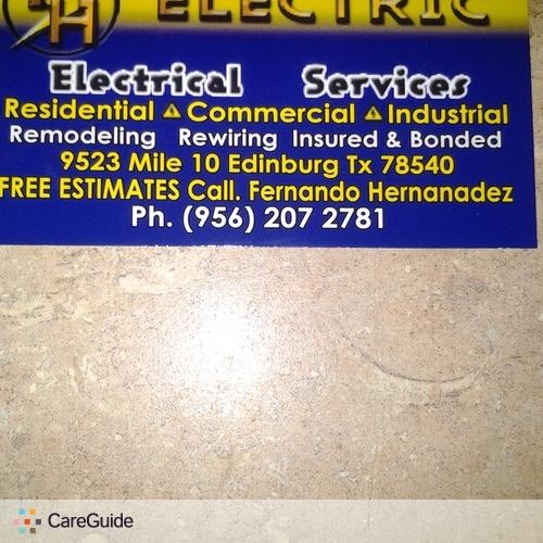 Electrician Provider Fernando H's Profile Picture