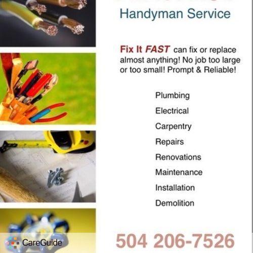 Handyman Provider John B's Profile Picture