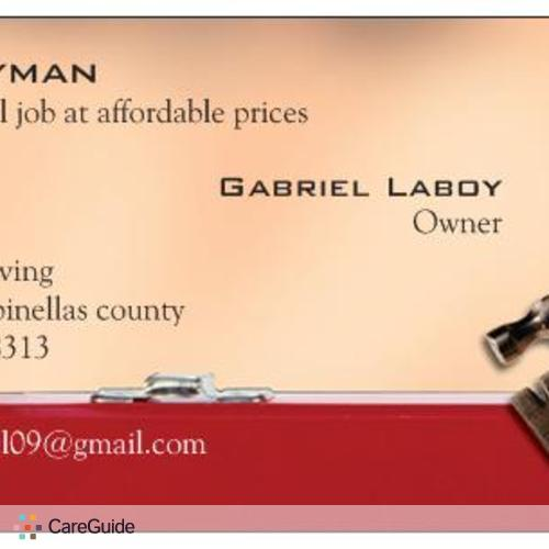 Handyman Provider Gabriel Laboy's Profile Picture