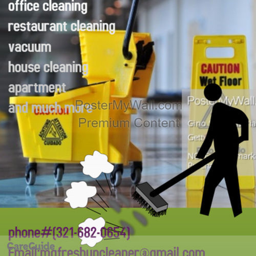 Housekeeper Provider M&G freshup cleaning S's Profile Picture