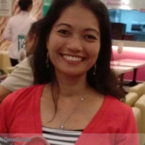 Canadian Nanny Provider Mari Jean R's Profile Picture