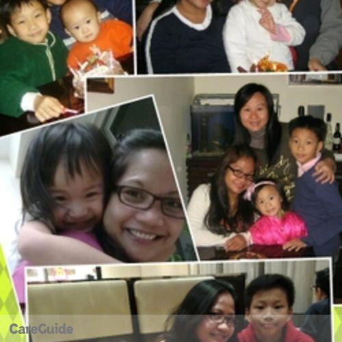 Canadian Nanny Provider Marjorie Soriano's Profile Picture