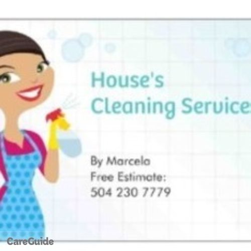 Housekeeper Provider Marcela S's Profile Picture