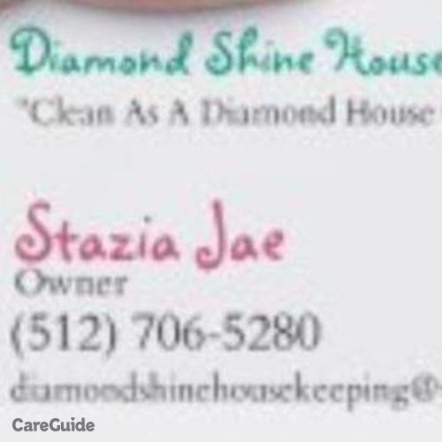 Housekeeper Provider Stazia Jae's Profile Picture