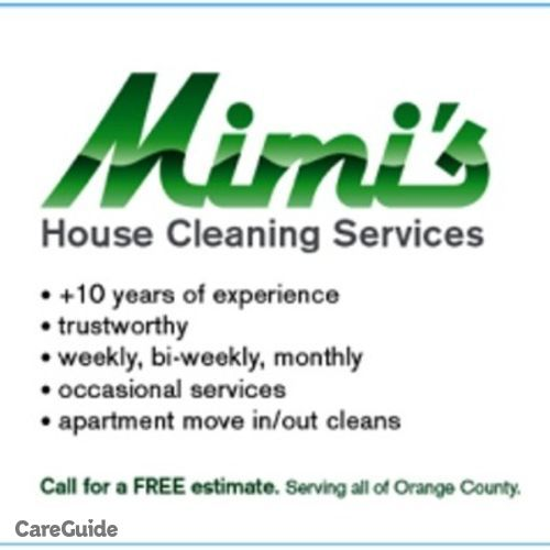 Housekeeper Provider Mimi Rodriguez's Profile Picture
