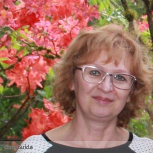 Canadian Nanny Provider Irina Zhalnenko's Profile Picture
