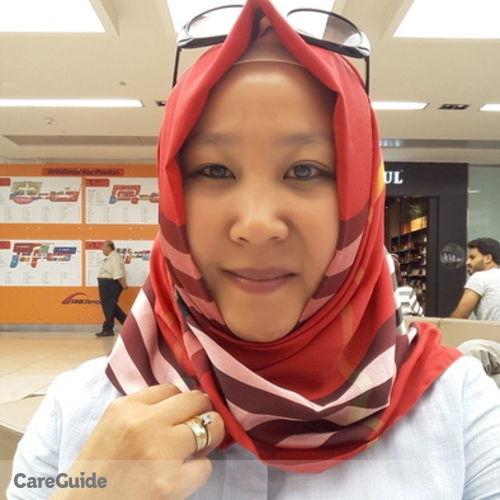 Canadian Nanny Provider Saltanat O's Profile Picture
