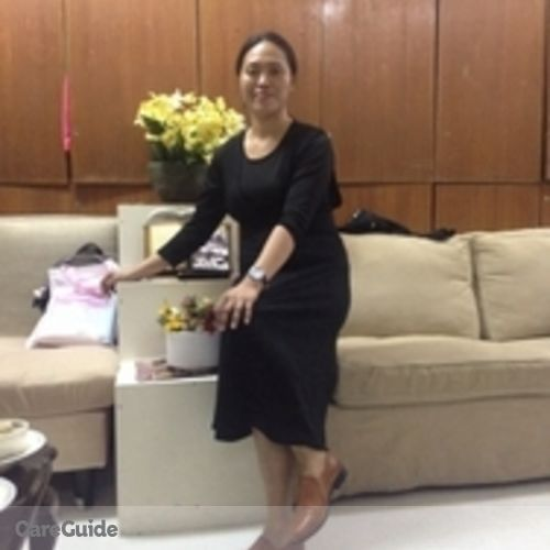 Canadian Nanny Provider Maria Luz Bohol's Profile Picture