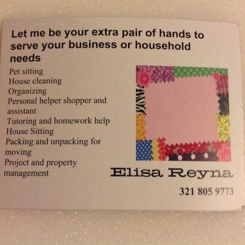 Housekeeper Provider Elisa Reyna Gallery Image 1