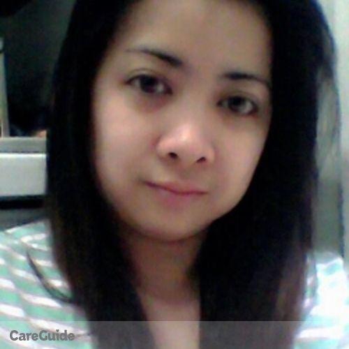 Canadian Nanny Provider Christiliza F's Profile Picture