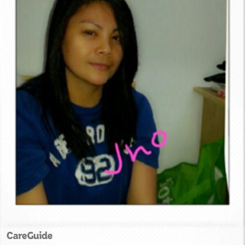 Canadian Nanny Provider Jocelyn T's Profile Picture
