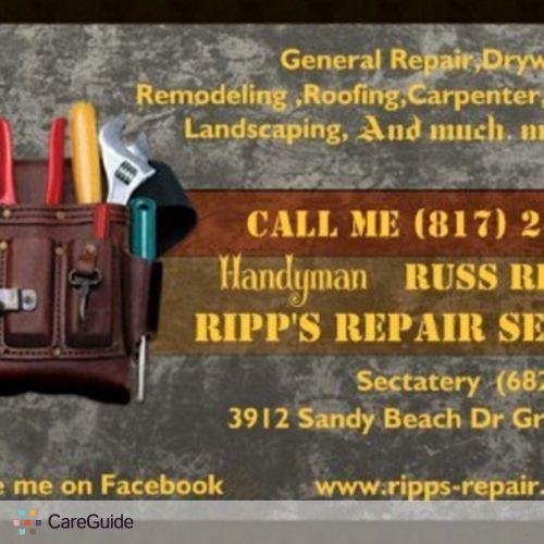 Handyman Provider Russ Rippetoe's Profile Picture